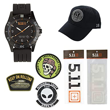 Amazon.com  5.11 Kits Men s Military Tactical Sentinel Watch 6523b9a981f