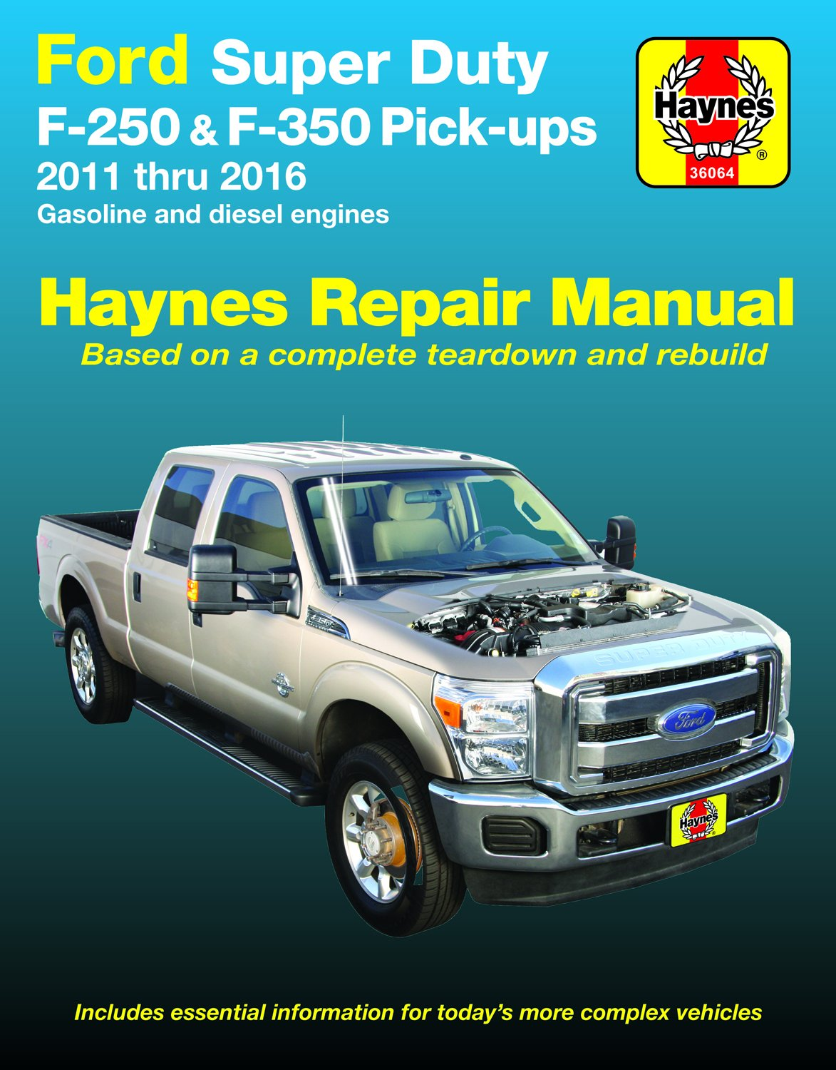 Ford Super Duty F-250 & F-350 2WD & 4WD Gas & Diesel Engine Pick-ups  (11-16) Hay: Haynes Publishing: 9781620922569: Amazon.com: Books | Ford F 350 Engine Schematics |  | Amazon.com