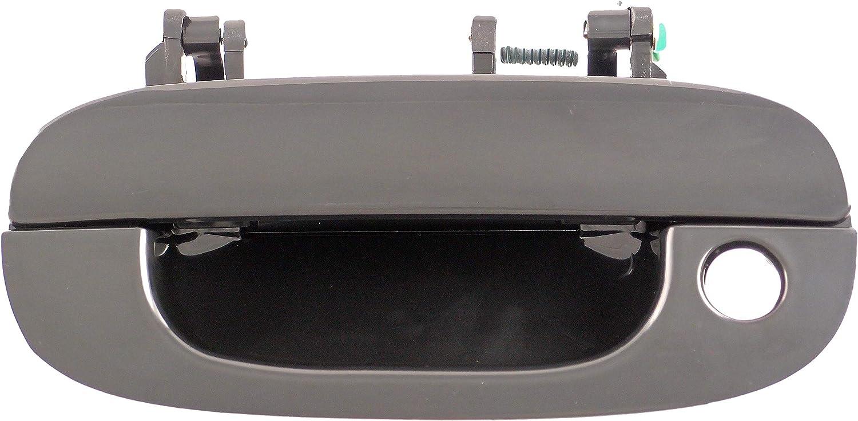 Dorman 93509 Front Driver Side Exterior Door Handle for Select Dodge Models, Black