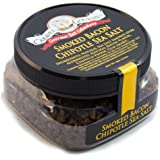 Smoked Bacon Chipotle Fine Sea Salt - All-Natural Bacon Sea Salt Slowly Smoked for Perfect Smoky Flavor - No Gluten, No…