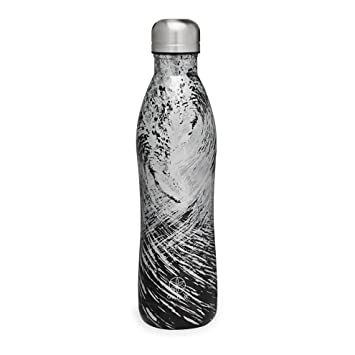 Amazon.com: Gaiam - Botella de agua de acero inoxidable con ...