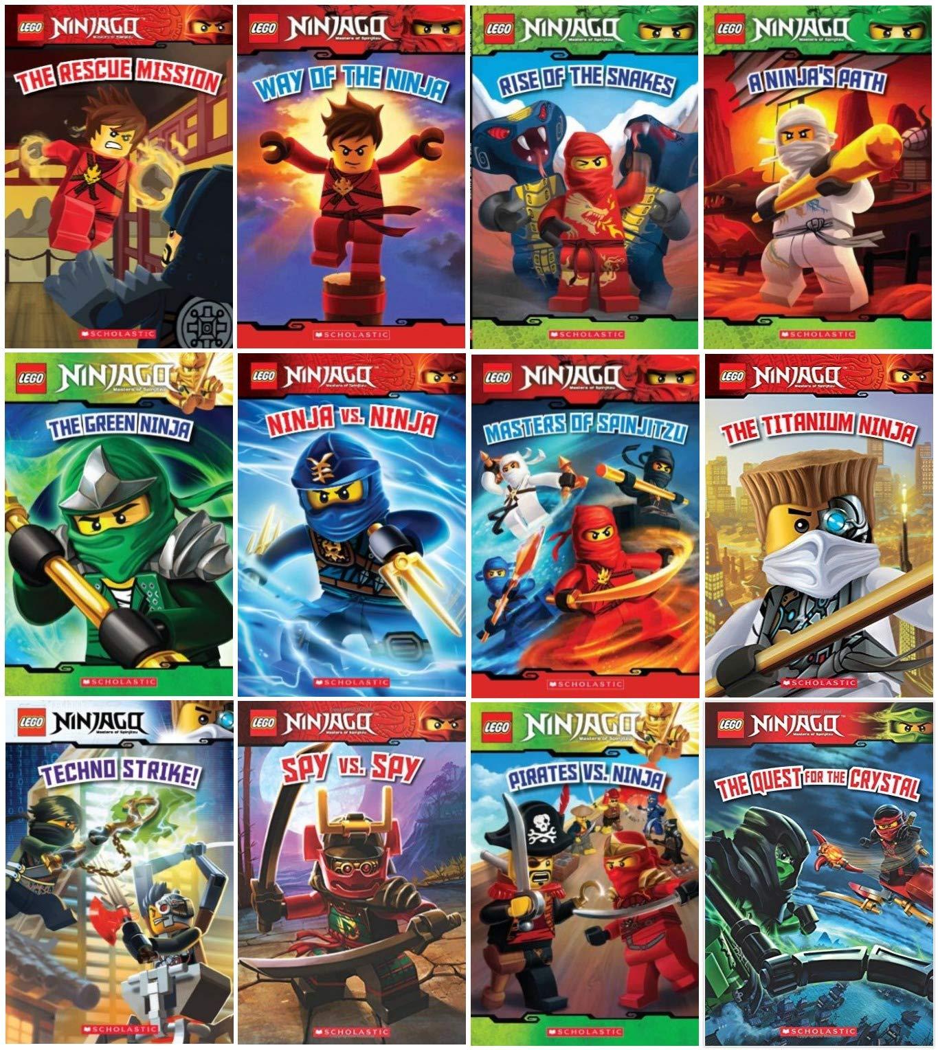 Lego Ninjago Series, Set of 12 Readers: Kate Howard Tracey ...