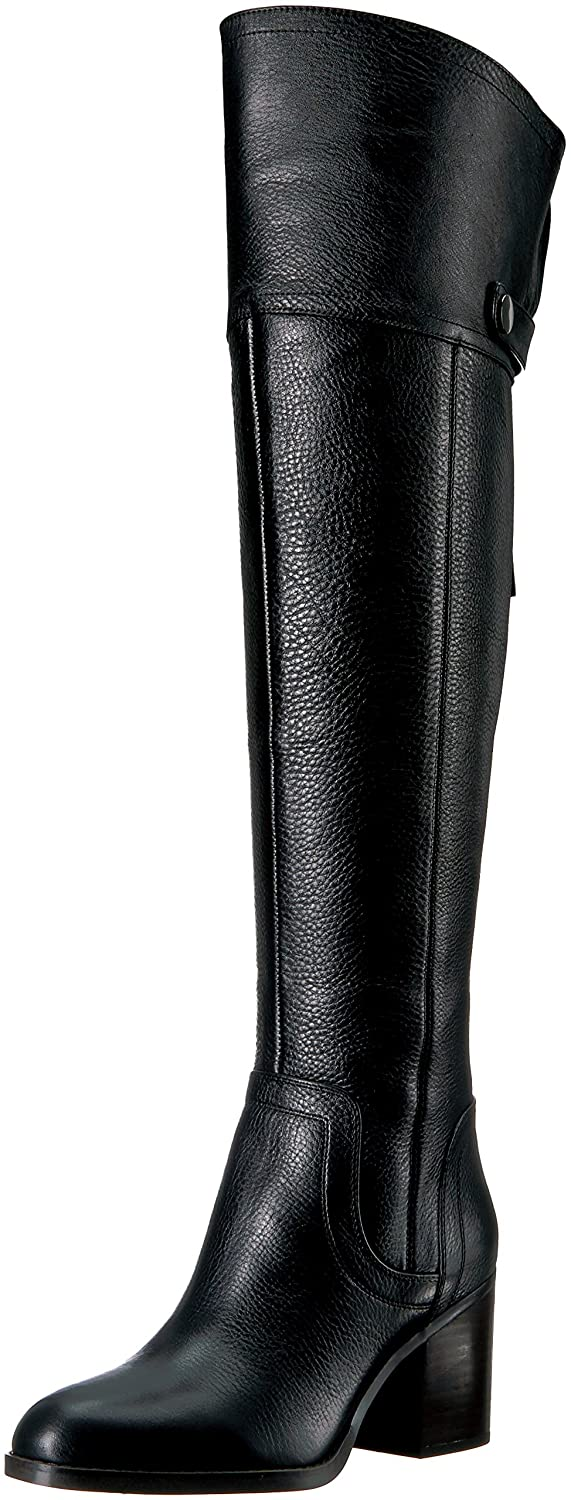 Franco Sarto Women's Ollie Over The Knee Boot B0722VFBBR 9 B(M) US|Black