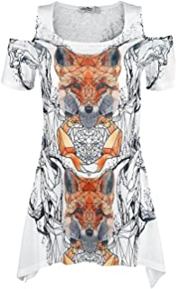 Feather Drop T Girl-Shirt multicolor Innocent Lifestyle Günstig Kaufen Brandneue Unisex 99Ir4cy