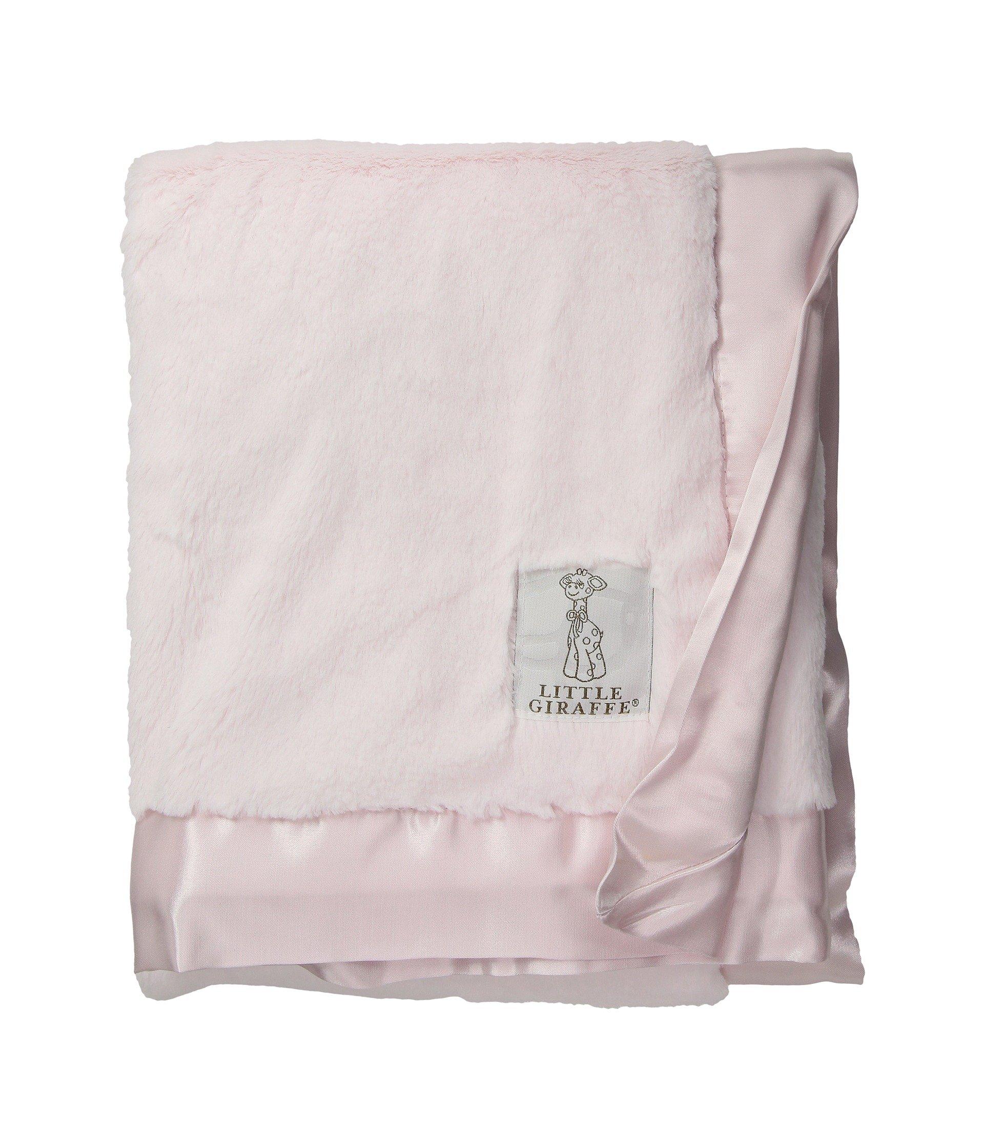 Little Giraffe Luxe Stroller Baby Blanket, Pink, 29'' x 35'' by Little Giraffe