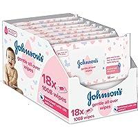 Johnson's Baby Toallitas suaves para todo tipo