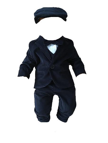 SixforKids - Ropa de bautizo - para bebé niño azul oscuro 62 ...