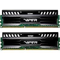 Patriot 16GB(2x8GB) Viper III DDR3 1600MHz (PC3 12800) CL10 Desktop Memory with Black Mamba Heatsink - PV316G160C0K