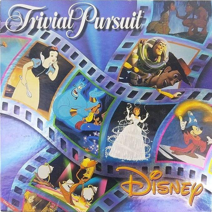 Disney Trivial Pursuit - Animated Picture Edition by Hasbro [Toy] (English Manual): Amazon.es: Juguetes y juegos