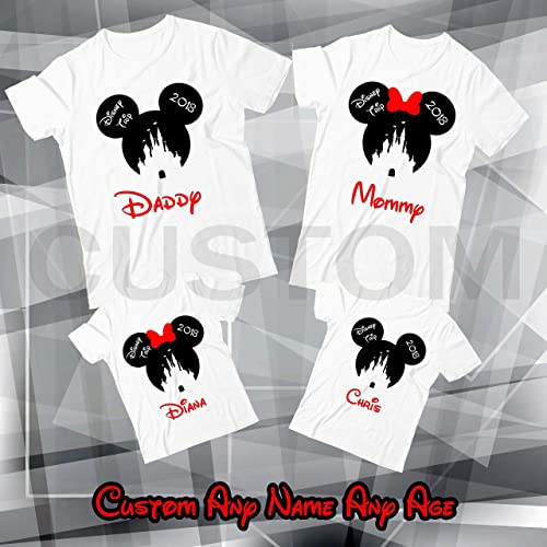 Amazon Disney Family Trip Shirt Custom Birthday Personalized Name And Age T Handmade