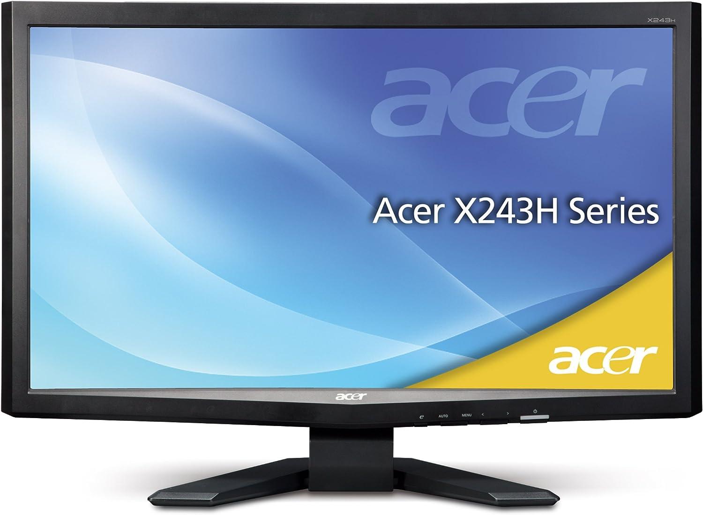 Acer X243habd 61 Cm Tft Monitor Vga Dvi Schwarz Computer Zubehör