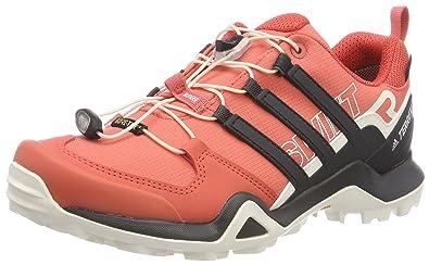adidas Terrex Ax2r W, Chaussures de Randonnée Basses Femme, Gris (Gridos/Gritre/Cortiz 000), 44 2/3 EU