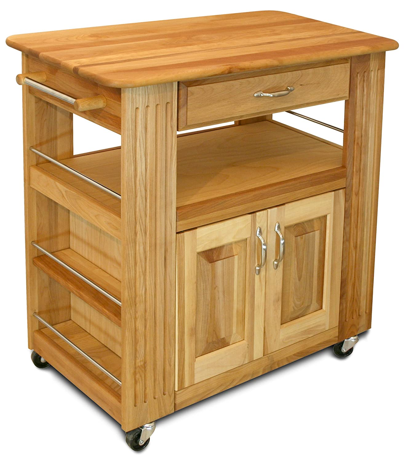 amazon com catskill craftsmen heart of the kitchen island bar rh amazon com 1480 catskill craftsmen kitchen cart catskill craftsmen natural kitchen cart with drop leaf