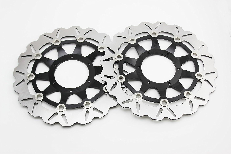 ADMOTO BLACK /Front Vented Disc Brake Rotor/ For HONDA CBR1000 08-15