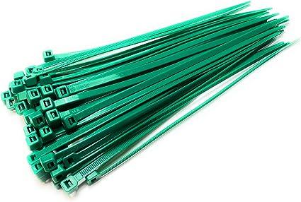 Nylon Kunststoff Kabelbinder Lang Und Breit Xl Größe Kabelbinder Schwarz Und Weiss Grün 4 8mm X 200mm Plastik Küche Haushalt