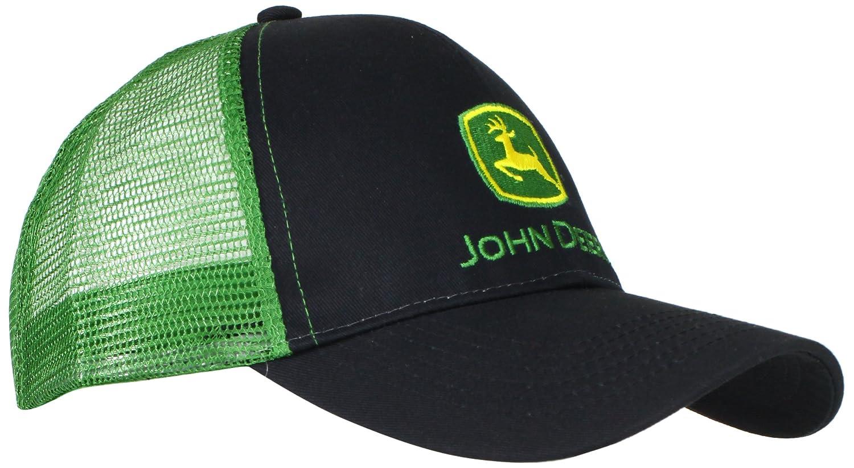 d0708592b2f John Deere Men s Logo Contrast Mesh Back Core Baseball Cap