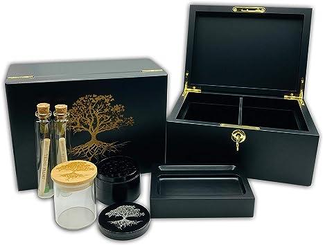 "Hakuna Supply Gunmetal Premium 2.5/"" Tabacco Grinder"