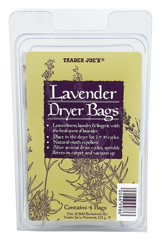 Trader Joe's Lavender Dryer Bags Trader Joe' s TJDryerBags