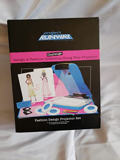 Amazon Com Project Runway Fashion Design Projector Kit Toys Games
