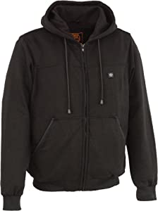 Milwaukee Performance Men's Hoodie w/Front&Back Heating Elements-Black-X-Large