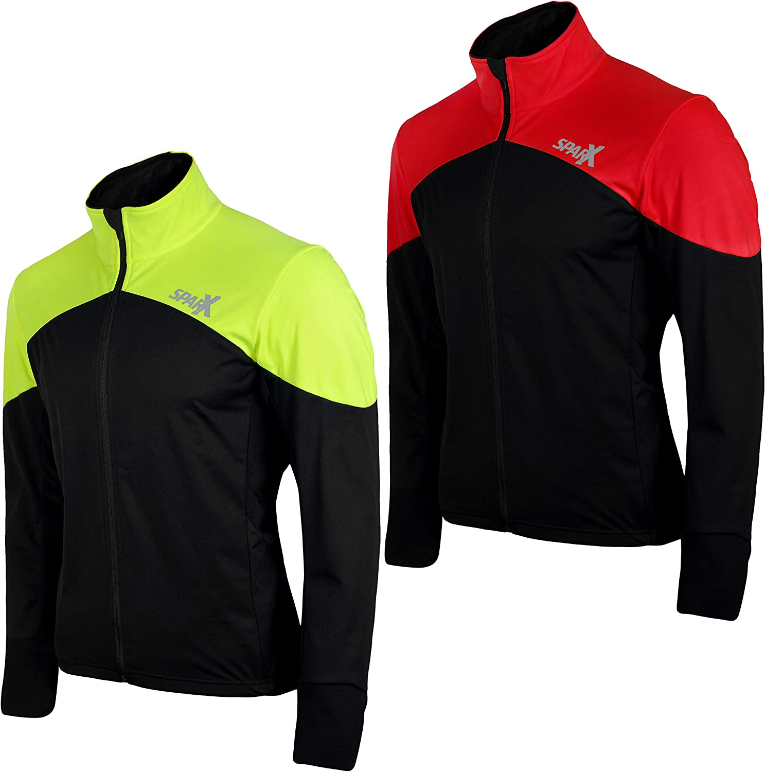Sparx Max 48% OFF Men Omaha Mall Cycling Jacket Windbreake Thermal Insulated Breathable