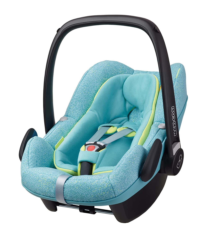 0-13 kg Maxi-Cosi Pebble Plus Babyschale orgami red sicherer Gruppe 0+ i-Size Kindersitz nutzbar ab der Geburt bis ca passend f/ür FamilyFix One Basisstation 12 Monate