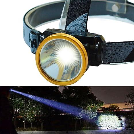 Amazon Com Odear Led Rechargeable Mini Headlamp Light Flashlight