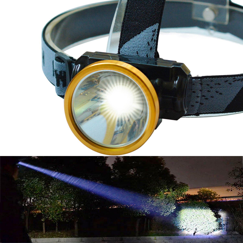 Spotlight Headlight: Odear Head Torch LED Rechargeable Headlamp Spotlight