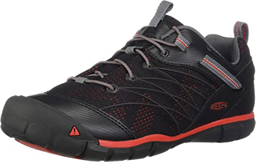 KEEN Chandler CNX WP Zapatillas de Senderismo Unisex para Ni/ños