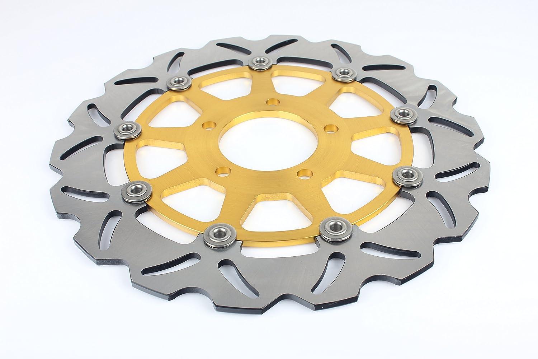 TARAZON Coppia Anteriore Dischi Disco Freno per Suzuki GSXR 600 GSXR750 2004 2005 GSXR1000 2003 2004 OR kit