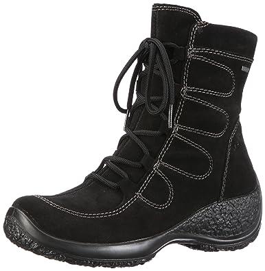 Legero Mocc Stiefel, schwarz, schwarz