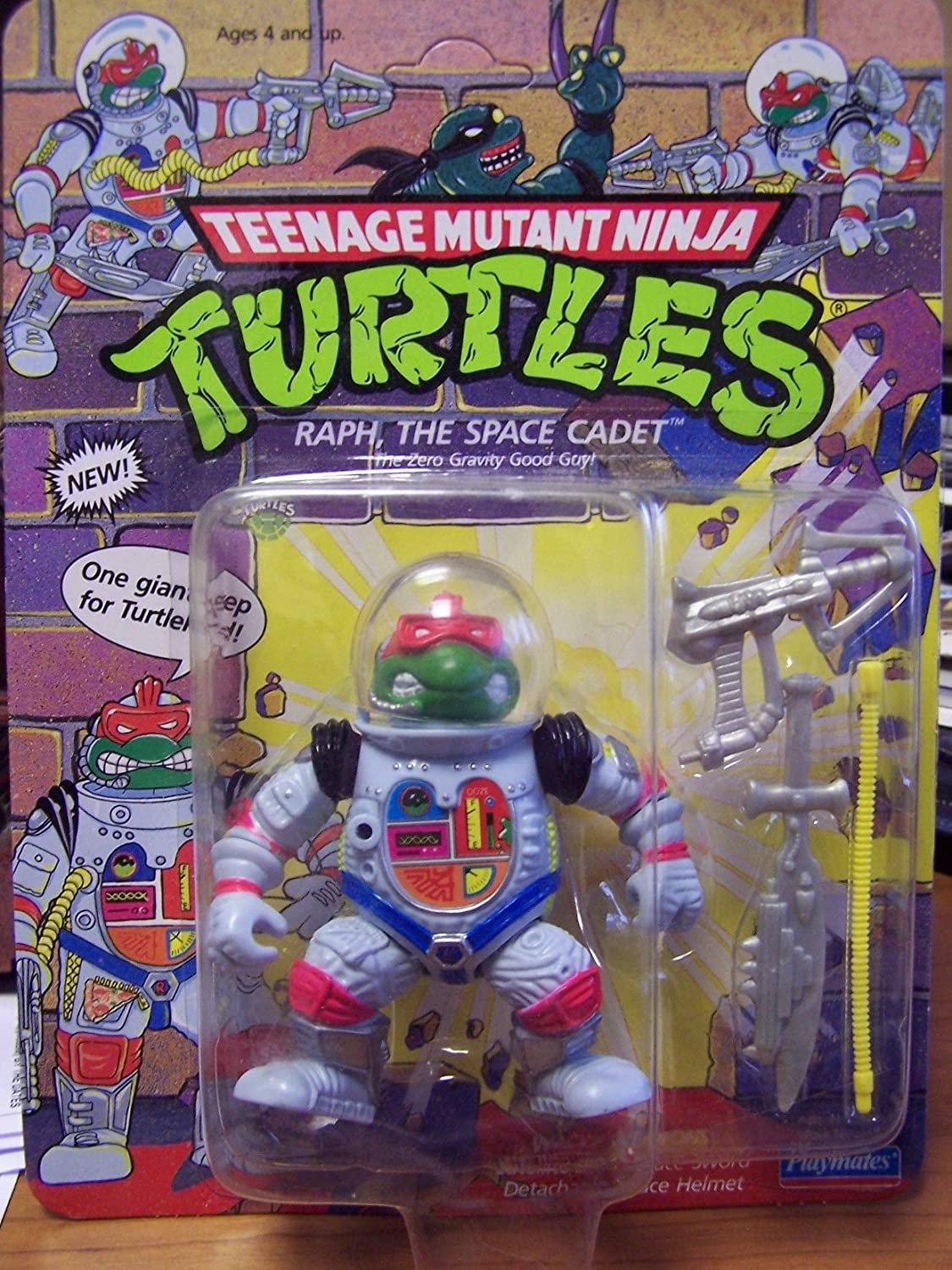The Space Cadet The Space Cadet Playmates 5000 Teenage Mutant Ninja Turtles Raph