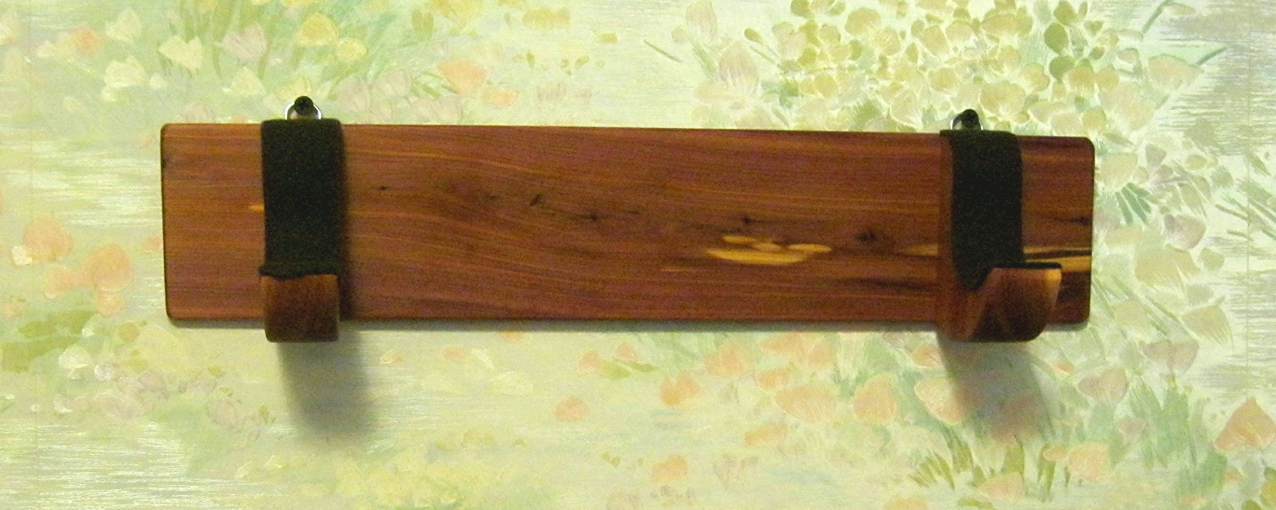 Native American Flute - Wall Rack - - handmade from aromatic cedar