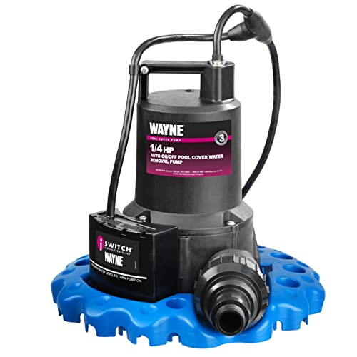 WAYNE 57729-WYNP WAPC250 1/4 HP Automatic ON/OFF Water Removal Pool Cover Pumps