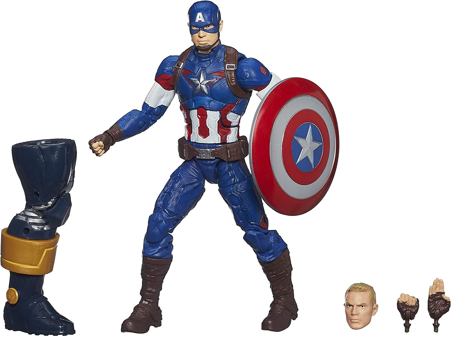 Figurine Captain America Marvel Legends Series Avengers 6 Inch Figure