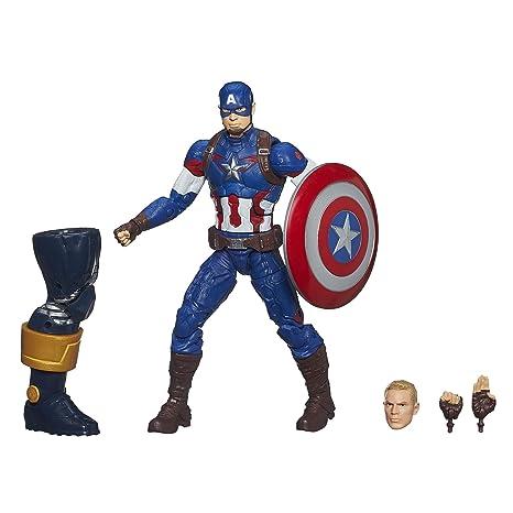 638d3f9fe62d2 Amazon.com  Marvel Legends Infinite Series Captain America 6-Inch Figure   Toys   Games