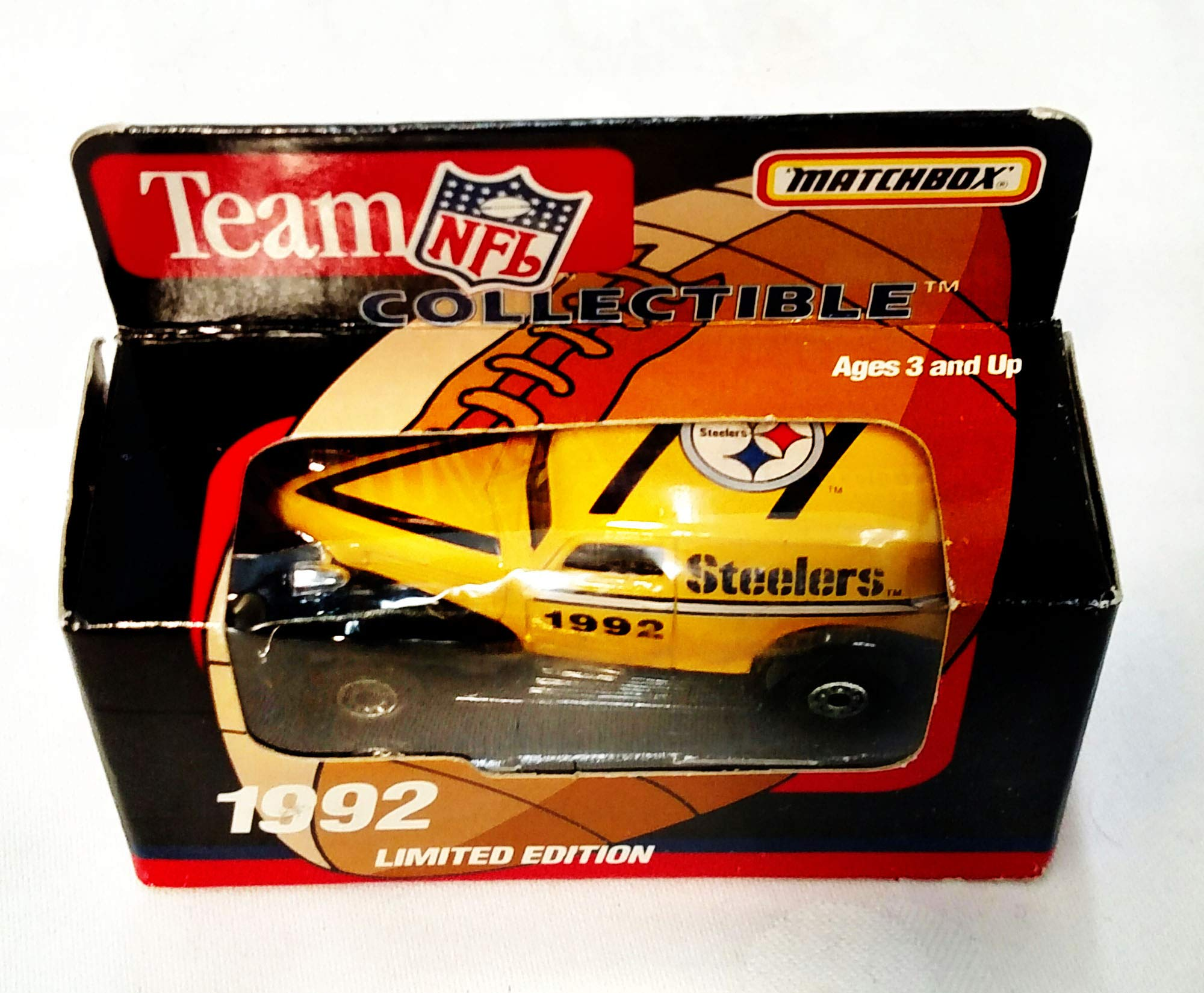 Pittsburgh Steelers 1992 Limited Edition Matchbox Die Cast Collectible