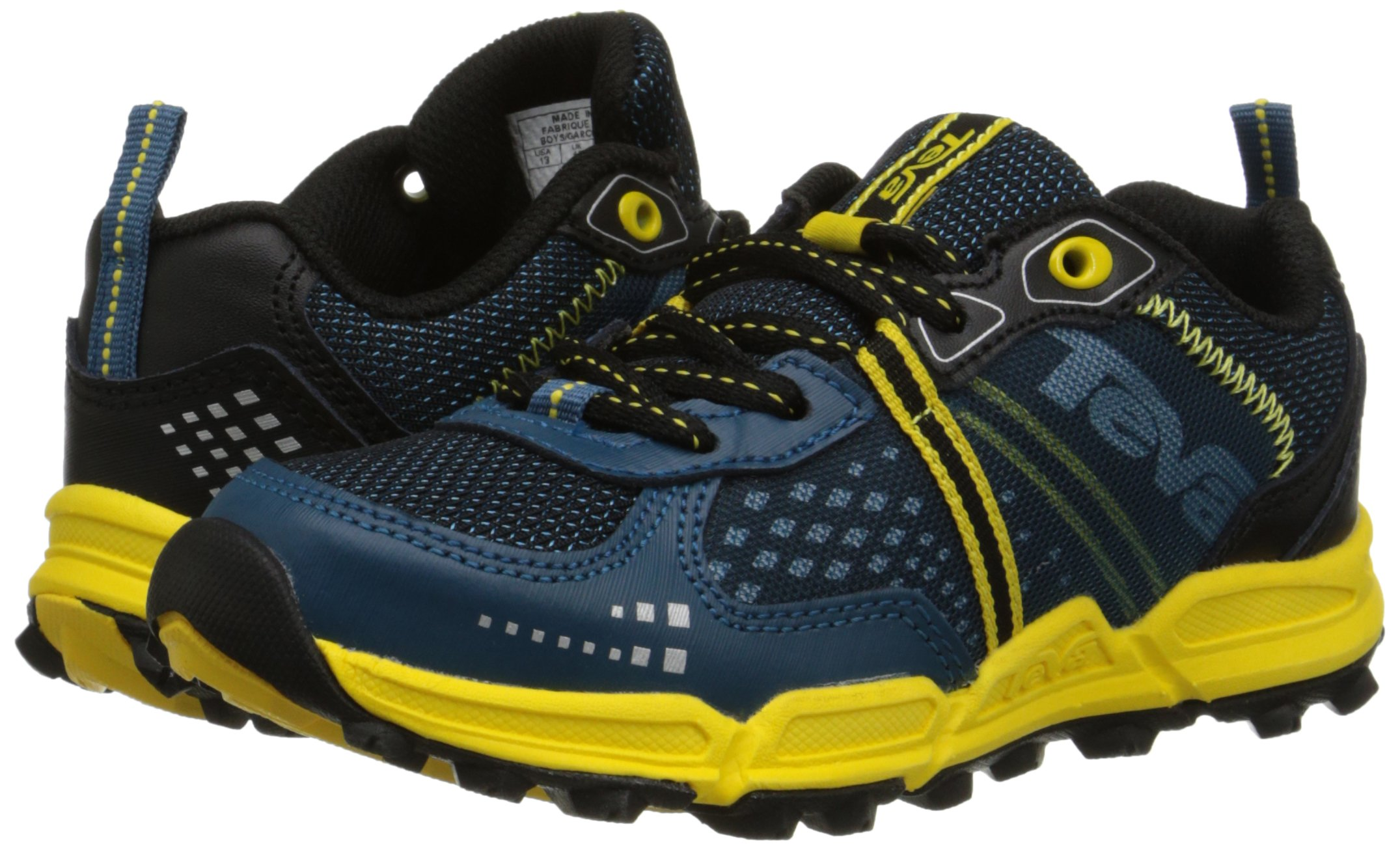 Teva Escapade Lo Athletic Trail Shoe (Little Kid/Big Kid), Blue/Yellow, 11 M US Little Kid by Teva (Image #6)