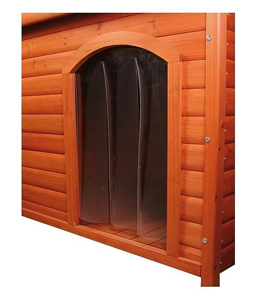 Trixie plástico puerta para perro de la perrera # 39551, 22 x 35 cm: Amazon.es: Productos para mascotas