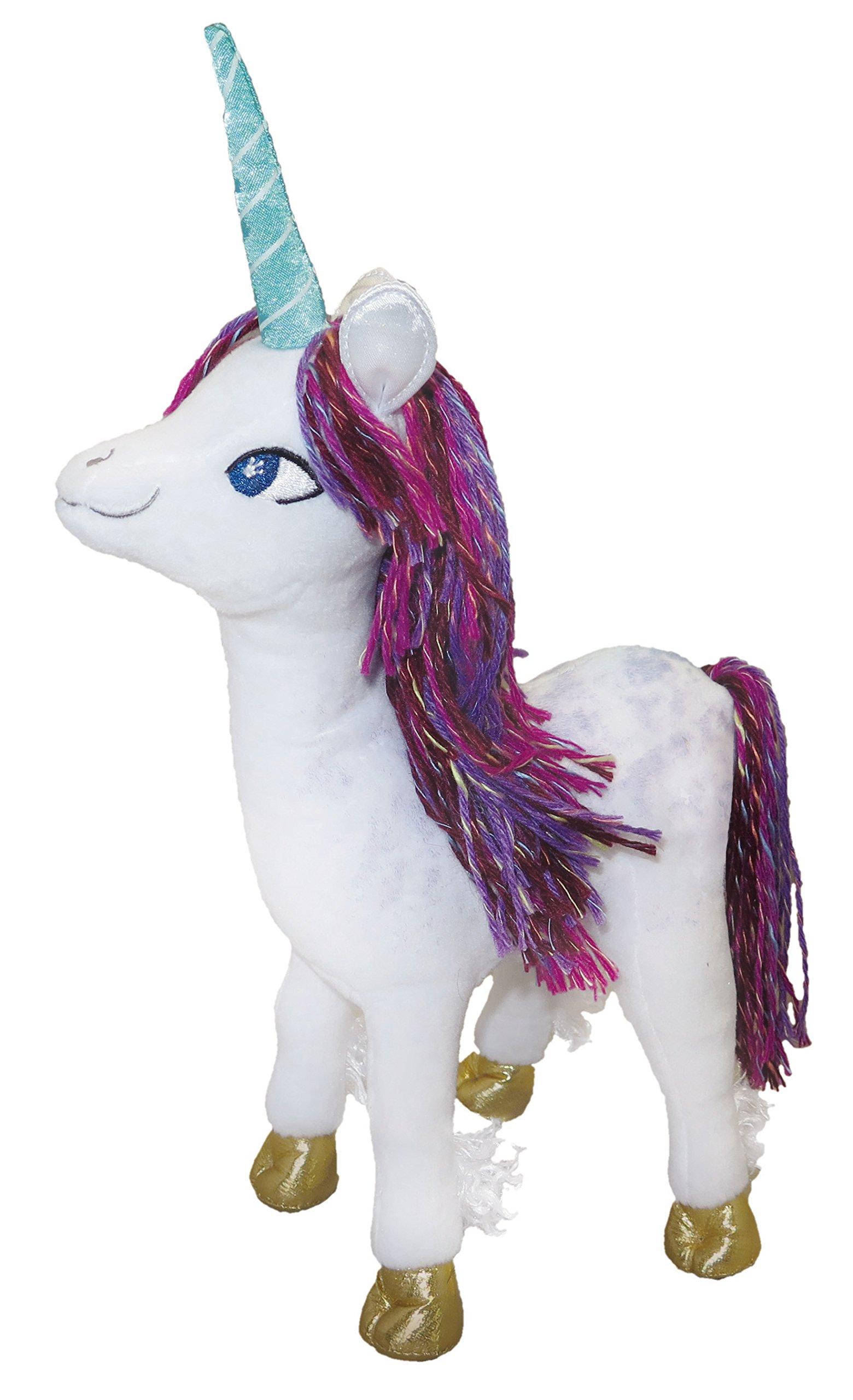 MerryMakers Uni The Unicorn Doll, 12.5-Inch