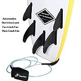 A ALPENFLOW 5'7 Foam Surfboard 5ft7 Soft Top Surf