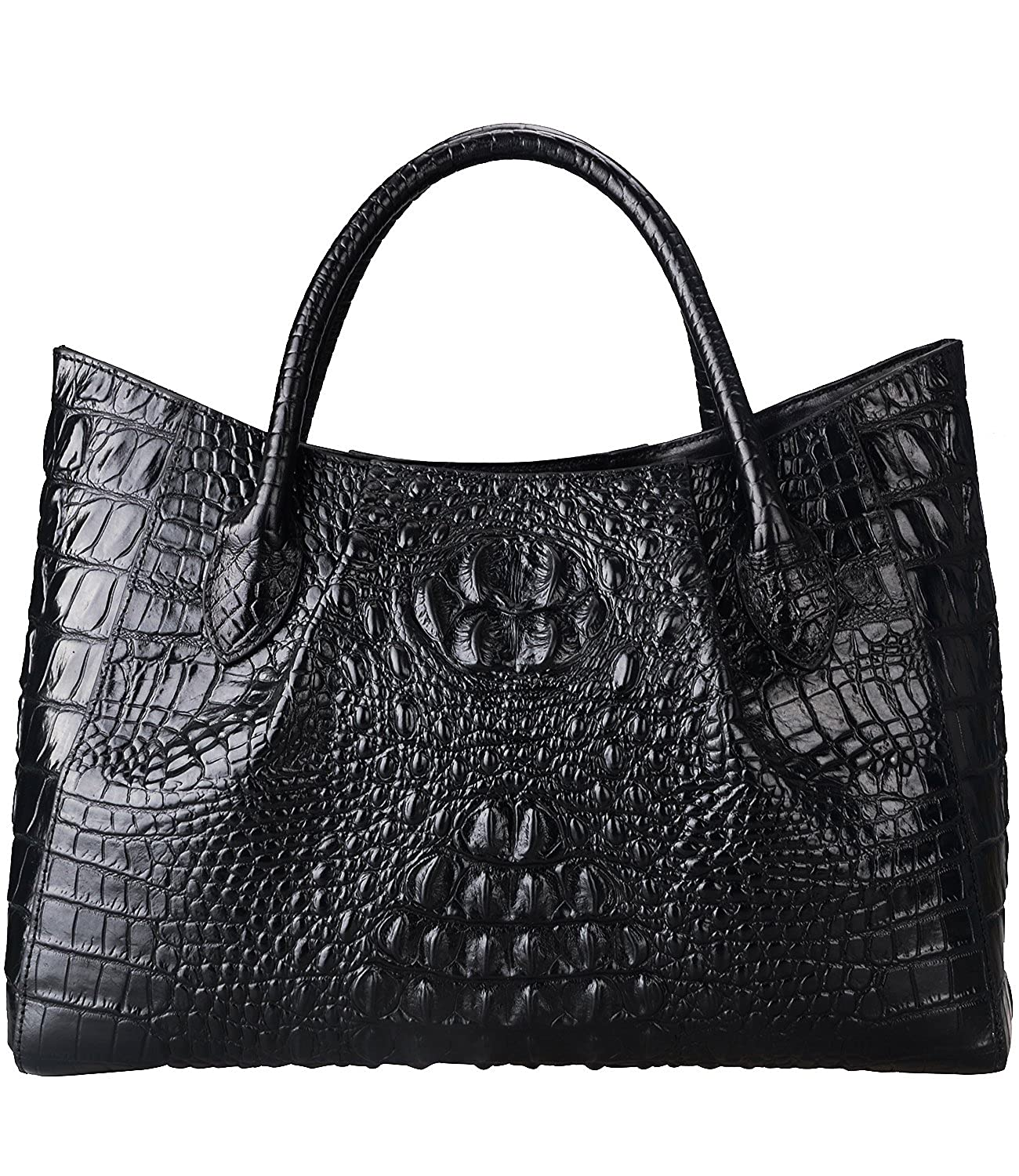 770e19b3bf16 ... Top Handle Bag Designer Satchel Bags For Women. Wholesale Price 189.71.  Imported genuine cow leather. Creative Embossed Crocodile Technology   Import wax ...
