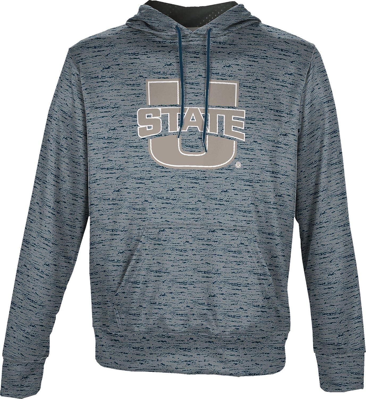 Utah State University Mens Pullover Hoodie School Spirit Sweatshirt Brushed