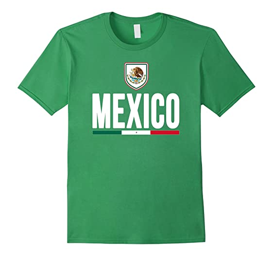 Mens MEXICO T-shirt Mexican Flag Tee Camiseta Pride Jersey 3XL Grass