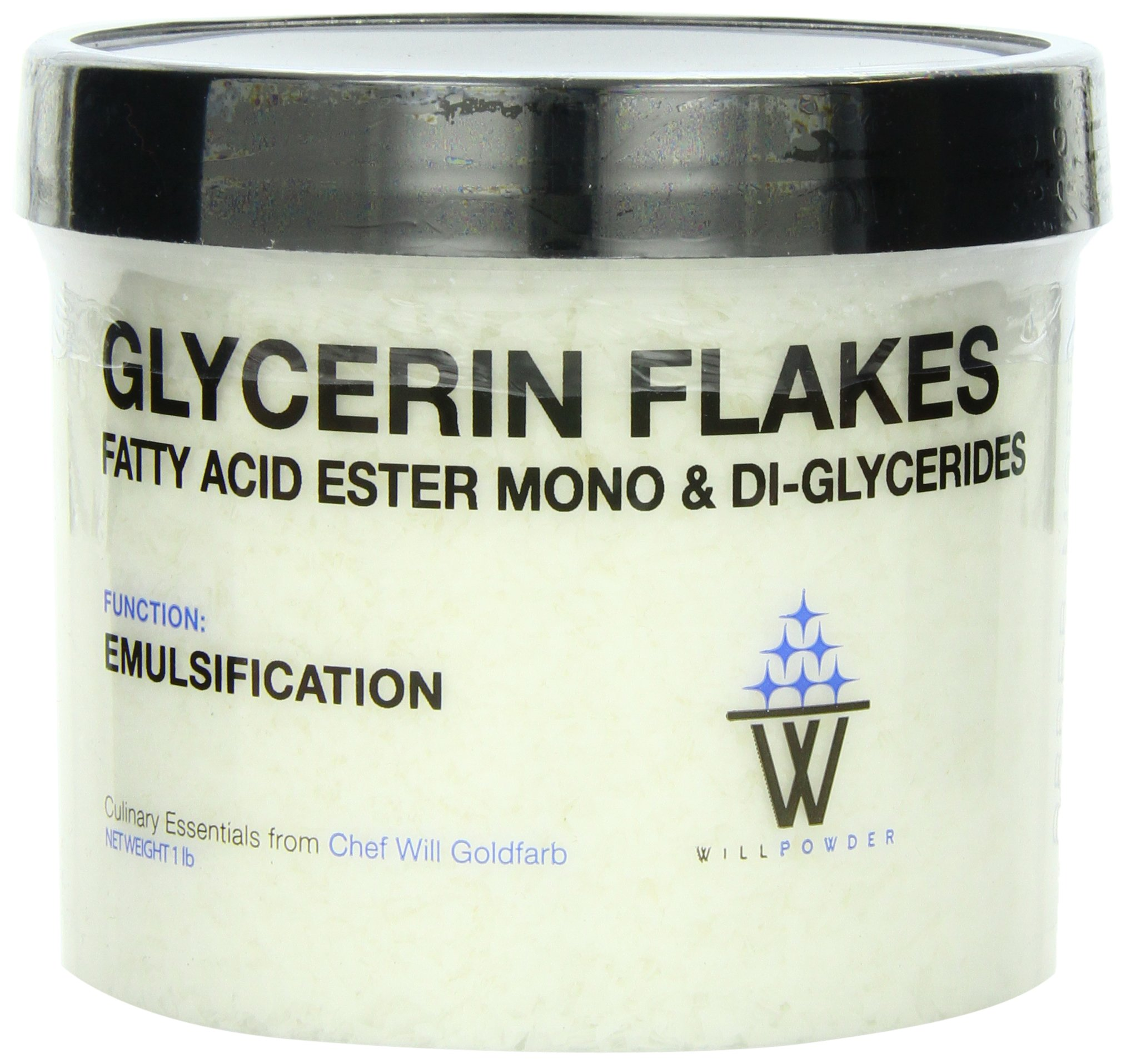 WillPowder Glycerin Flakes, 1-Pound Container