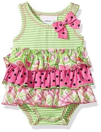 Amazon Bonnie Baby Girls One Piece Knit Romper Dress Clothing