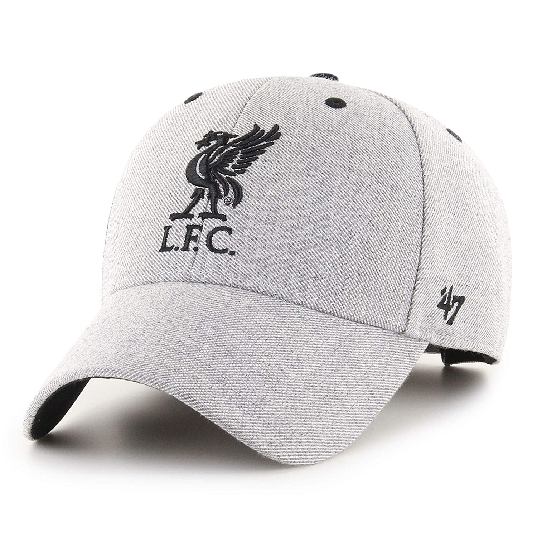 47 Liverpool FC Adulto Storm Cloud MVP V2 Cap LFC Oficial Gris ...