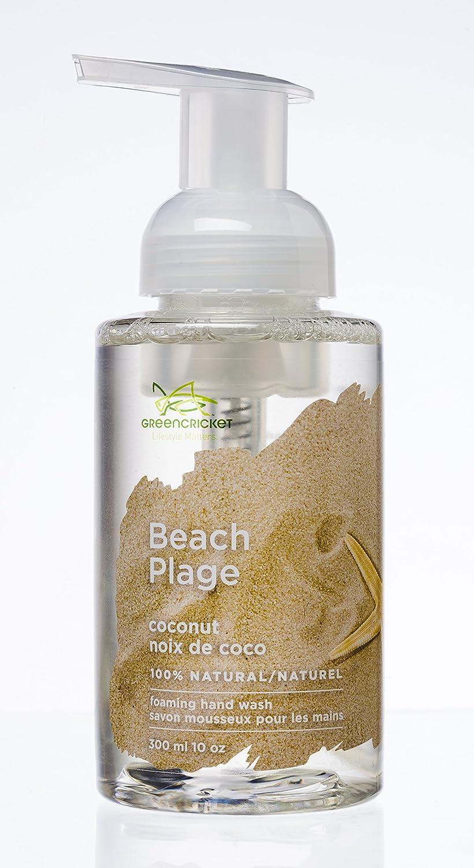 Green Cricket 100% Natural Beach Foaming Hand Wash 300 ml pump bottle 300ml