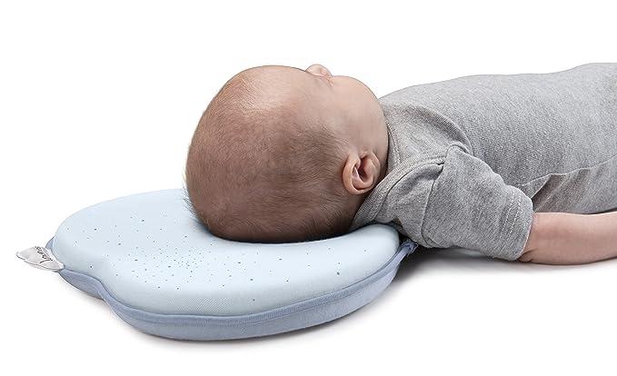 Babymoov Lovenest A050216 - Almohada para el bebé, color azul