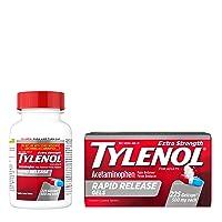 Tylenol Extra Strength Rapid Release Gels with Acetaminophen, Pain Reliever &...